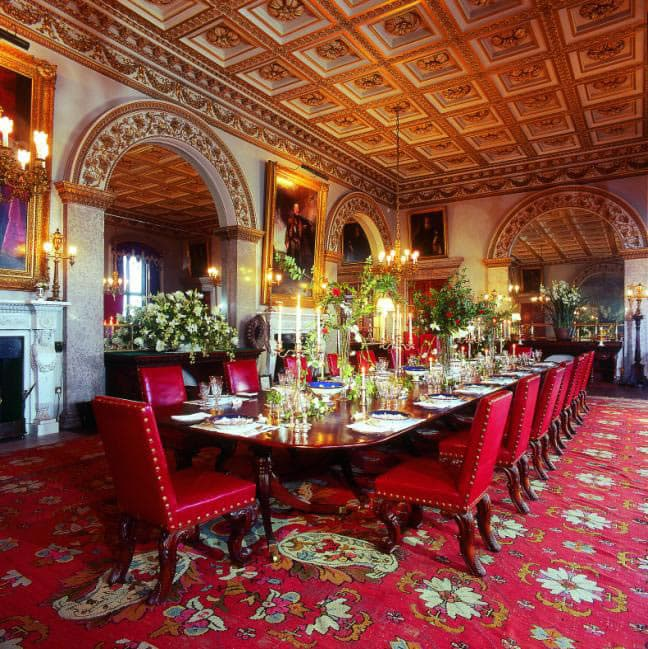 Castle Dining Room: Dine With A Duchess