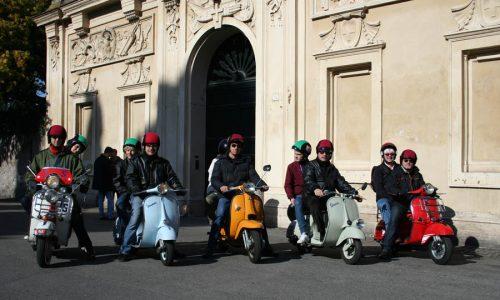 Vintage Vespas in Rome