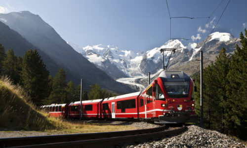 Glacier Express Swiss Rail Tour
